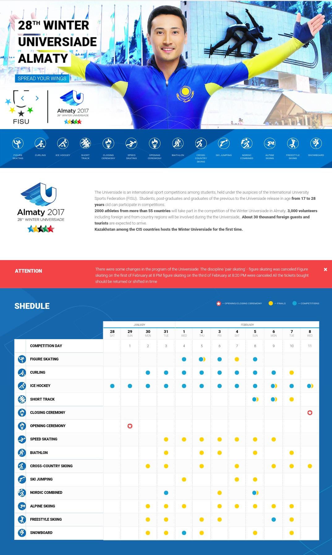 Universiade_Termine