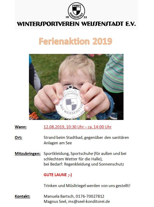 Ferienaktion_2019